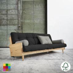 El sofá cama Indie Dark Grey - Ítem