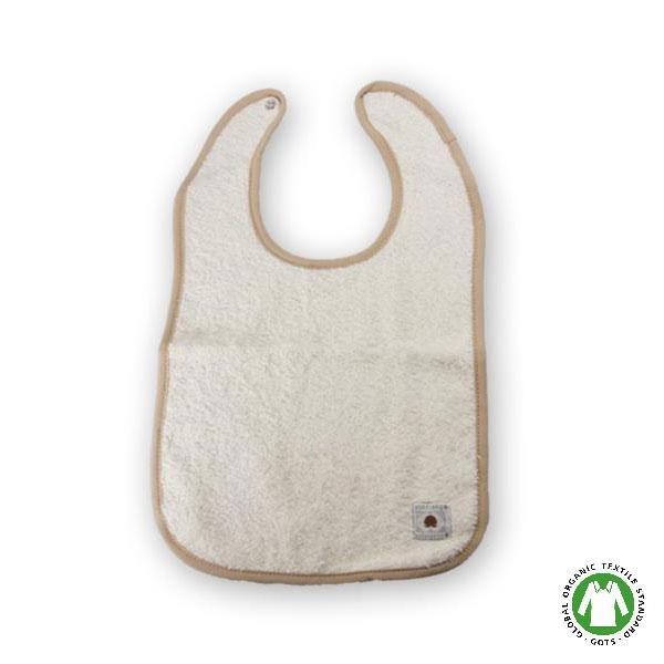 Babero de algodón orgánico Fox Fibre