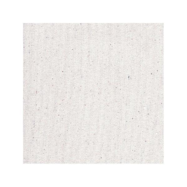 Esta sábana bajera está hecha a mano en algodón natural sin tintes y en color blanco-crudo.