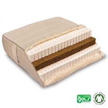 Piuma Coko es un colchón de látex natural y fibra de coco hecho artesanalmente con materiales naturales certificados - Ítem