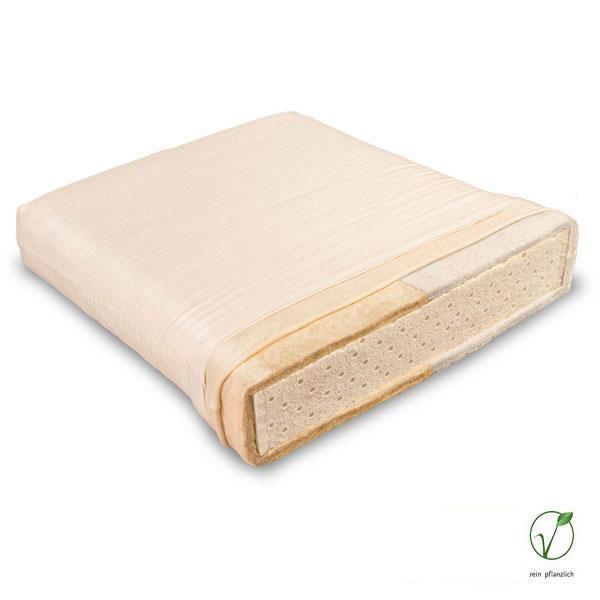 Solana es un colchón natural infantil recomendado para niños y adolescentes de 2 a 16 años. El grado de rigidez es Medio.