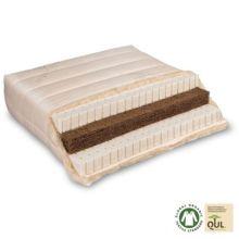 Colchón de fibra de coco y látex natural Varia Lana Basic 100% ecológico y artesanal