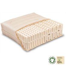 El colchón Varia Lana Comfort Z es de látex natural combinado con materiales ecológicos como el algodón orgánico y la lana virgen