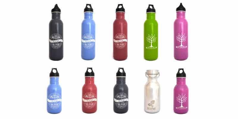 Son botellas muy prácticas si lo que queremos es irnos de picnic, llevarlas en la mochila si vamos al pádel, a la playa o, incluso, dárselas a los niños para llevar consigo.