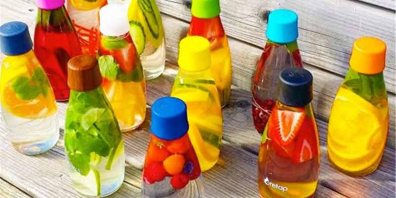 Estas botellas están pensadas para personas con un estilo de vida sano que quieren consumir agua del modo más saludable.