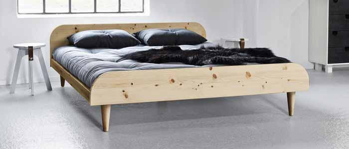 Camas de madera naturales, sin metales y camas infantiles