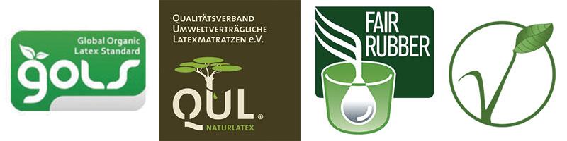 latex certificados ecológicos