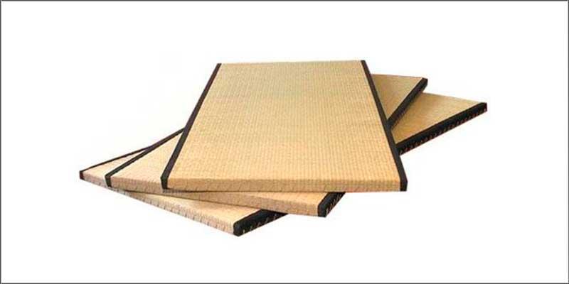 tatami japonés natural