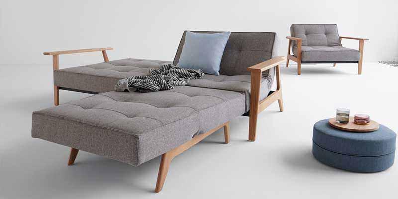 Sof s cama de estilo n rdico innovation living - Cama estilo nordico ...