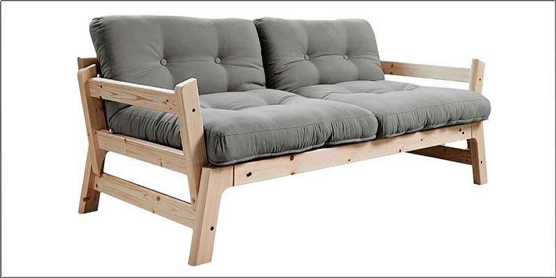 Sofá cama de madera Step