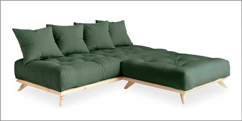 Sofá cama Senza Chaise Longue