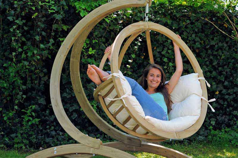Hamacas colgantes y sillas hamaca ecológicas para tu jardín