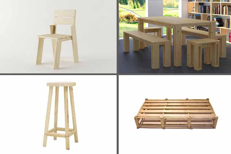 muebles sin pintar ecológicos