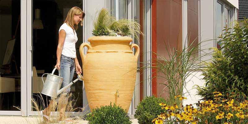 depositos para la recogida y reaprovechamiento del agua de lluvia