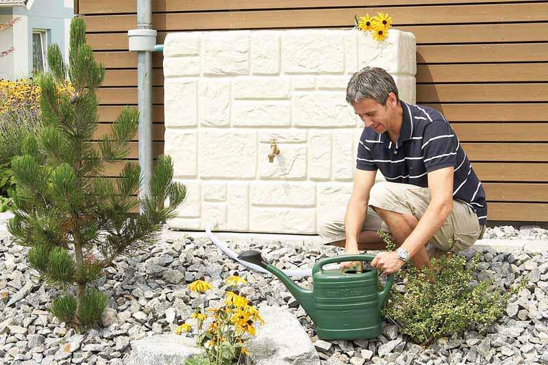 Depósitos de recogida de agua de lluvia