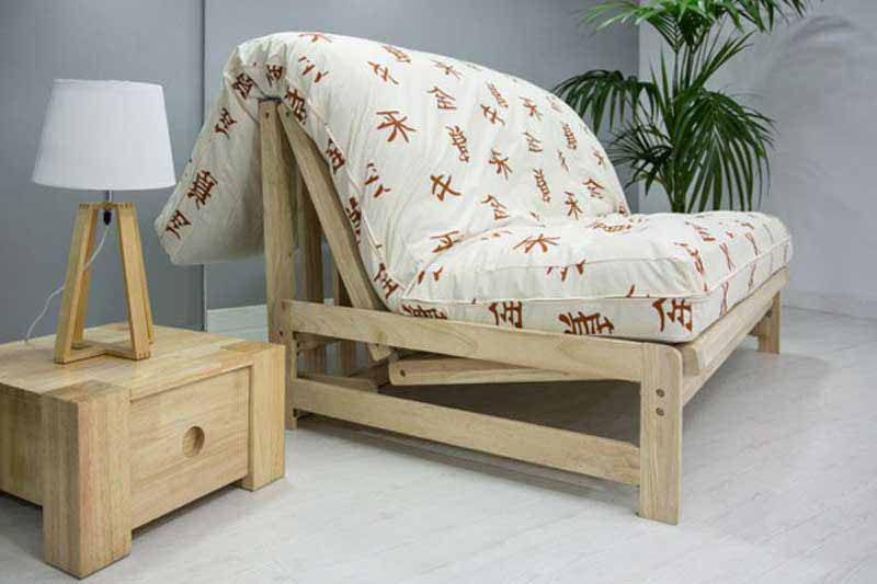 Sofás cama de madera sostenible