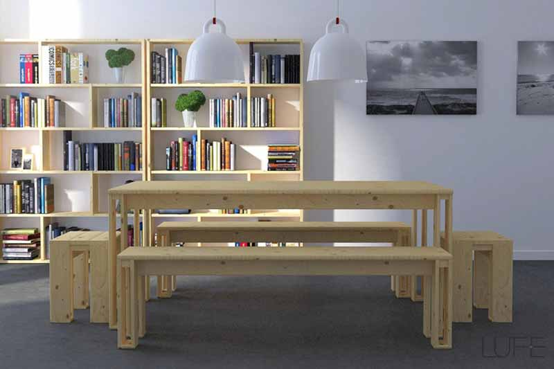 Te contamos las ventajas que ofrece la madera de trato natural, recomendándote algunos de los muebles sin pintar ecológicos que ofrecemos.