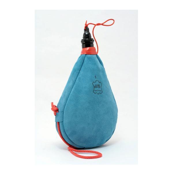 La Bota de Vino Látex azul se puede usar sin problemas con bebidas azucaradas y carbonatadas, así puede ser usada con refrescos por los niños y mayores.