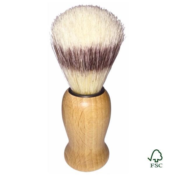 Esta brocha de afeitar es perfecta para el uso diario gracias a su tamaño de 10,5 cm y composición.