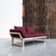 Edge ofrece tres posiciones: diván de dos plazas, chaise-longue y cama individual de 80 x 200 cm. Sus dimensiones reducidas hacen de este modelo una idónea cama auxiliar para espacios pequeños. - Ítem9