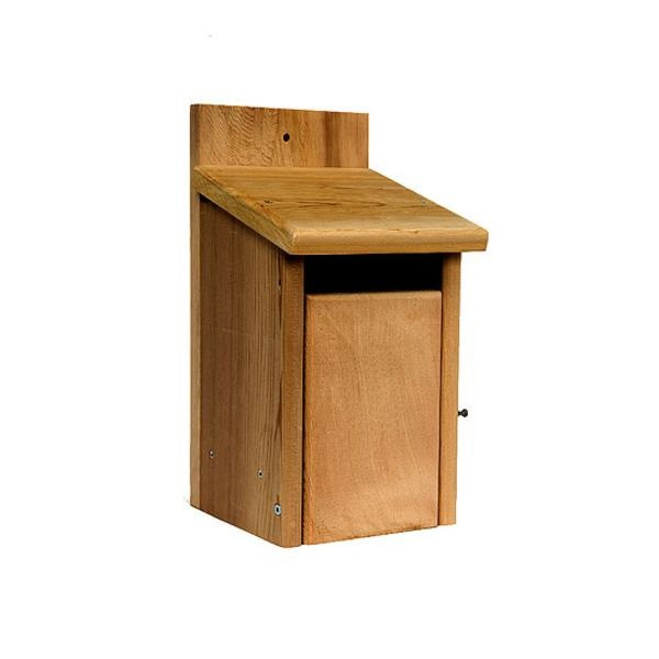 Caja nido Cedar Plus Openfront para chochín, agateador y otros