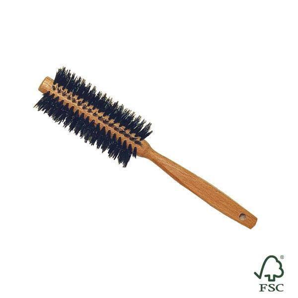 Cepillo de cabello redondo es antiestático y al peinarte sentirás un agradable masaje en tu cuero cabelludo.