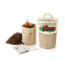 Kit de siembra Tomate Cherry: semillas ecológicas de variedades tradicionales - Ítem