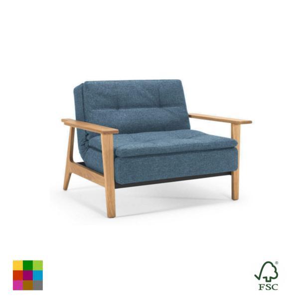 Sillón reclinable Dublexo Frej