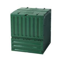 La compostadora Eco King. Al apilar residuos orgánicos, estos se descomponen gracias a la actividad de microorganismos bajo unas determinadas condiciones de oxígeno.