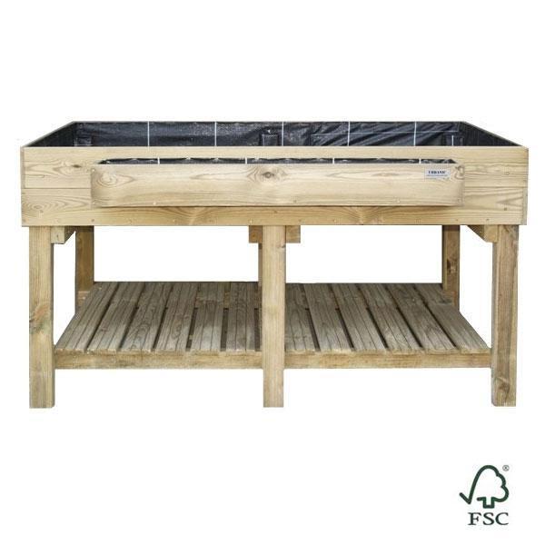 Mesa de cultivo ecoexpert - Jardineras huerto urbano ...