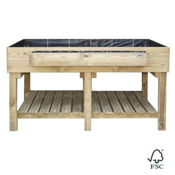 Mesa de cultivo ecoexpert - Mesa para huerto urbano ...