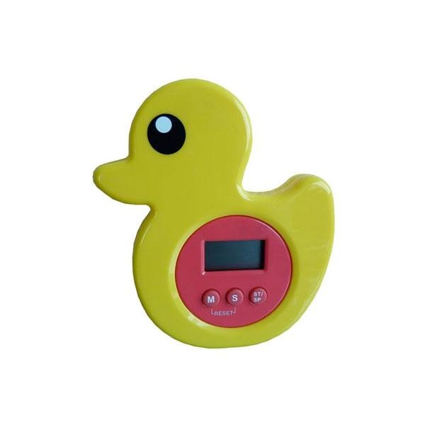 El temporizador de ducha pato es un sencillo reloj-alarma de cuenta atrás digital, de una forma fácil ajusta los minutos y los segundos que se destinan a la ducha y, una vez cumplido el tiempo, ayuda a recordar que es bueno ahorrar agua y energía
