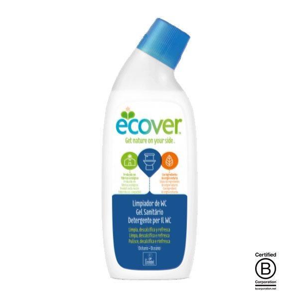 Limpiador ecológico para W.C. Ocean Eco se ha elaborado utilizando únicamente elementos vegetales, compuestos todos ellos biodegradables e inocuos para el medio ambiente.
