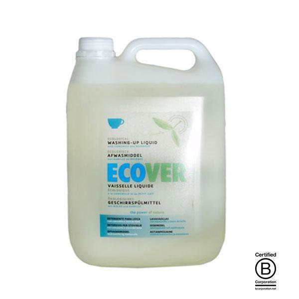 Lavavajillas líquido de Ecover fabricado utilizando únicamente ingredientes naturales, vegetales y minerales