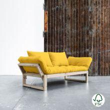 El diván cama Edge amarillo