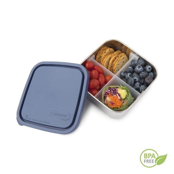 Esta fiambrera te servirá tanto para llevarte la comida fuera de casa como para conservarla dentro del frigorífico. Libre de BPA, ftalatos y plomo. La alternativa más sana a los contenedores de plástico.