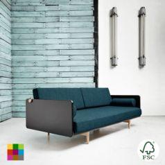 Deva está diseñado para ser tanto el sofá principal de la casa como para usarse de cama de invitados gracias a su confortable y resistente futón. - Ítem