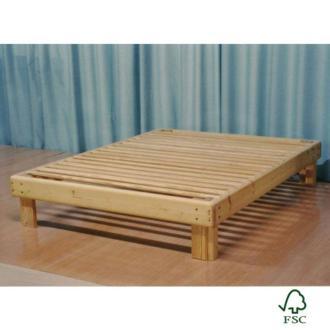 Cama Somier madera Fustaforma