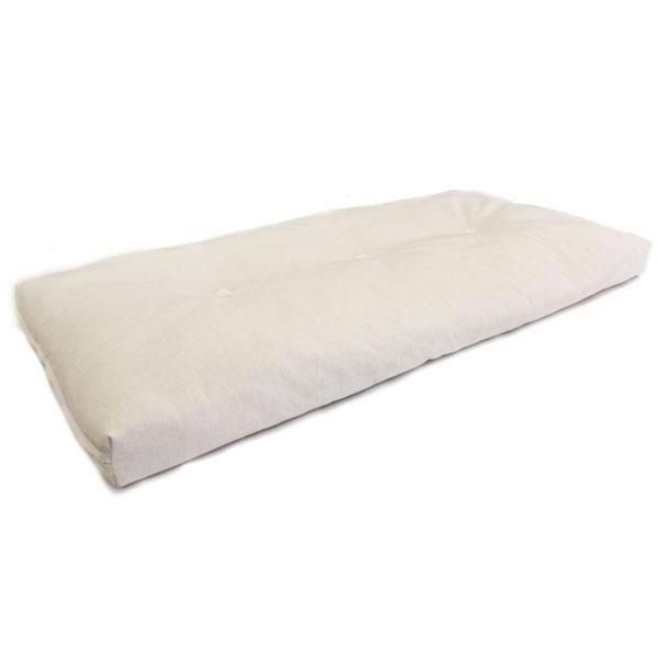 Futón de látex y algodón para cuna es de la mejor calidad, la densidad de sus fibras lo hacen suave y agradable para un mejor descanso