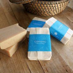 Jabón natural de ginseng y jengibre