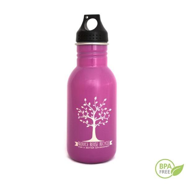 La Botella de acero inoxidable Greenyway 0,500 L rosa: Una buena opción para personas que les gusta cuidarse y llevar un estilo de vida saludable y respetuoso con el medio ambiente.