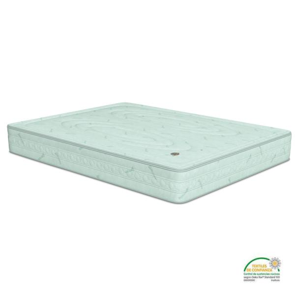 El colchón ecológico Green Planet de Naturalia está fabricado con materiales naturales de primera calidad y sus cualidades ortopédicas te garantizan un descanso óptimo.