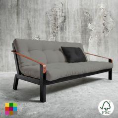 El sofá cama Poetry Negro