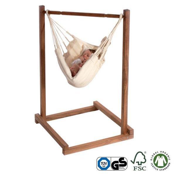 Hamaquita Yayita bio con soporte de bambú