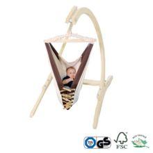 Cuna Hamaca bebé Kangoo con soporte madera