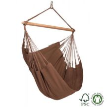 Silla hamaca Modesta individual arábica de algodón orgánico