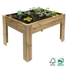 Mesa de cultivo de madera Hortalia Garden Brico para huerto urbano