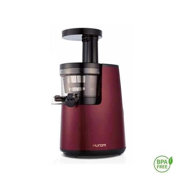 El Hurom HH 2ª generación rojo cuenta con un contenedor de zumos de gran tamaño para 0,5L de jugo.
