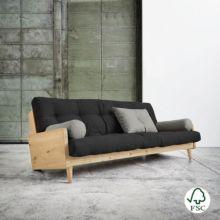 El sofá cama Indie Dark Grey