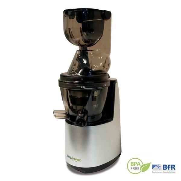 El extractor de zumos Slow Juice Juissén Pro no exprime ni tritura, sino que prensa los ingredientes mediante su sistema de rotación lenta.